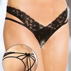 Bikini sexy 2438 - negru M/L