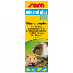 Sera Mineral Plus N, 50ml, 9859, Minerale animale mici