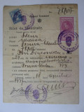 Rar! Buletin de identitate provizoriu 1937 valabil 1 an emis la Poiana Sibiului