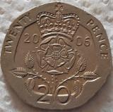 Moneda 20 PENCE - MAREA BRITANIE / ANGLIA, anul 2006 *cod 5134, Europa