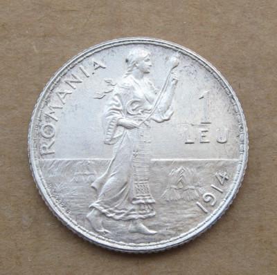 1 Leu 1914 Bruxelle foto