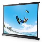 FrontStage TSVS 50, casetă neagră, ecran de proiecție, 4: 3, 102 x 76 cm