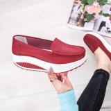 Pantofi casual Piele dama rosii Movisa-rl