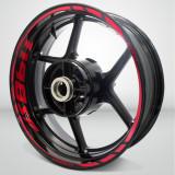 Set stickere moto pentru jante - Ducati 1198sp
