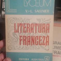 Literatura franceza, vol. I – V.L. Saulnier