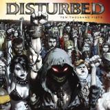 Disturbed Ten Thousand Fists UK Tour(cd+dvd)