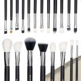 Set 20 pensule machiaj Perfect Make-Up + Borseta Bej CADOU
