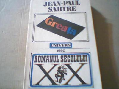 Jean-Paul Sartre - GREATA { 1990 } foto
