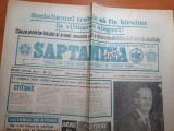 Ziarul saptamana mare anul I nr.2, 1991-imi place sa traiesc in tara mea