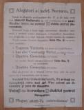 Afis vechi electoral Suceava (UNIUNEA NATIONALA 1932)