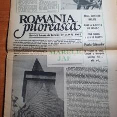 ziarul romania pitoreasca februarie 1992-articol colibita