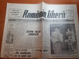 "Ziarul romania libera 21 august 1990-art."" ce-or fi gasit pe lipscaniul asta """