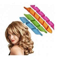 Set Bigudiuri Rapide Magic Multicolor Leverag pentru Coafat Par Ondulat