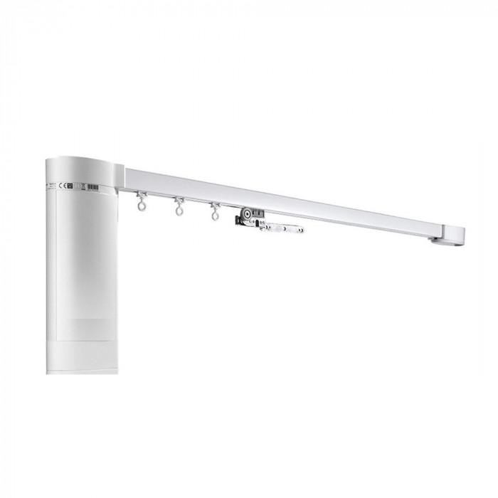 Sina electrica cu deschidere pe stanga pentru perdele sau draperii - 200 cm