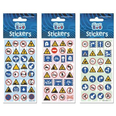 Stickere semne de circulatie, 6,6x18cm - STARPAK foto