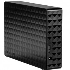 HDD Extern Seagate Expansion Desktop, 3.5 inch, 6TB, USB 3.0 (Negru)
