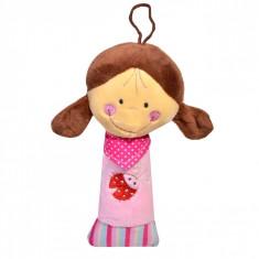 Jucarie zornaitoare, model fetita, 20cm, multicolor
