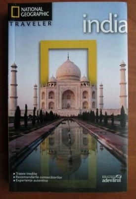 India (colectia National Geographic Traveler, nr. 12) foto