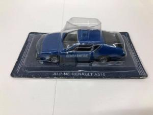 Macheta Alpine Renault  A310 - Jandarmerie Franta Masini de Politie scara 1:43