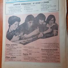 revista radio-tv saptamana 30 august-5 septembrie 1981