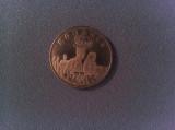 Monedă comemorativă 50 bani 2019 Regina Maria
