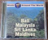 CD Music Around The World - Bali, Malaysia, Maldives, Sri Lanka