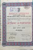 Actiuni Banca Urbana 1920