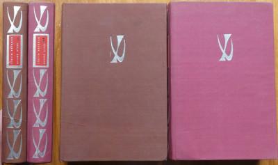 Ilarie Voronca , Poeme alese , 1972 , 2 volume legate in matase , editie de lux foto