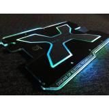 Cumpara ieftin Placa 3D Carbonrevo finisaj negru mat cu leduri pentru Dualtron X