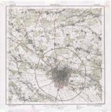 Harta Bucurescii 1911 Institutul Geografic al Armatei Bucuresti