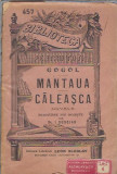 1090 Gogol - Mantaua + Caleasca (biblioteca pentru toti antebelica)