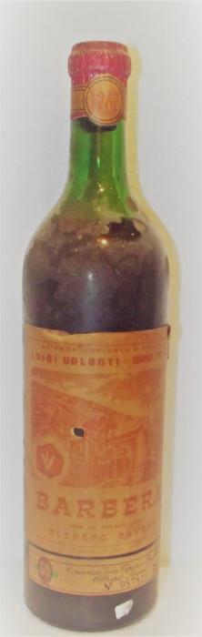 80 - vin rosu barbera oltrepò pavese recoltare 1967 cl 72 gr 12