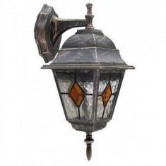 Aplica MONACO, RABALUX, aluminiu, 1 bec x 60 W, inaltime 37 cm, latime 15 cm, 5 kg, 8181