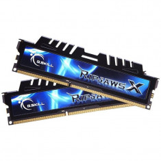 Memorie GSKill RipjawsX Black DDR3 16GB DDR3 2133 MHz CL9 Dual Channel Kit