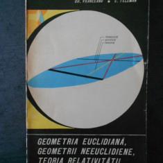 G. VRANCEANU - GEOMETRIA EUCLIDIANA, GEOMETRII NEEUCLIDIENE, TEORA RELATIVITATII
