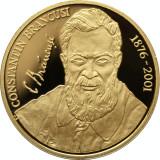 Uncie aur ,BNR .24 k,31 gr.  Constantin Brâncuşi