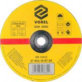 Disc abraziv pentru debitat metale 230x6.8x22 mm VOREL