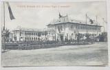 EXPOZITIA NATIONALA 1906 , PAVILIONUL REGAL IN PERSPECTIVA - CARTE POSTALA ILUSTRATA , NECIRCULATA , 1906