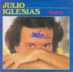 Julio Iglesias - Amor (1982, CBS) Disc vinil single 7