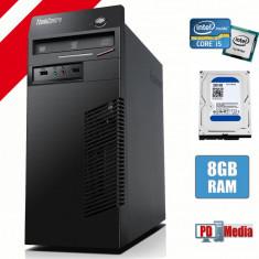 Calculator Lenovo m72 Tower Procesor I5-3340 8GB DDR3 HDD 320GB DVD Rom
