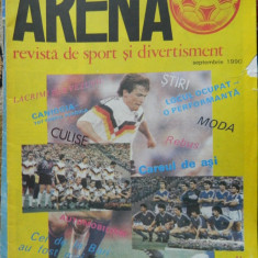 Revista fotbal - Arena, septembrie 1990