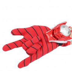 Manusa Spiderman pentru copii cu discuri