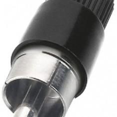 Conector RCA cablu Monacor T-700G/SW