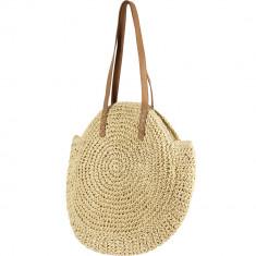 Handmade Natural Raffia Shoulder Bag