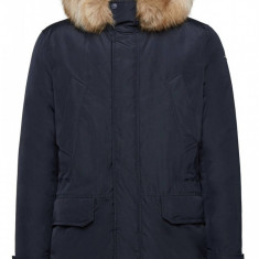 Jacheta textil barbati, din poliamida, marca Geox, M9428F-F4386-42-06, bleumarin