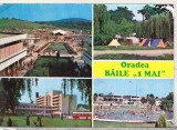 Bnk cp Oradea Baile 1 Mai - Vedere - necirculata, Printata