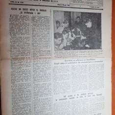 sportul popular 3 martie 1953-hochei la gheorgheni,sah,tenis de masa,fotbal