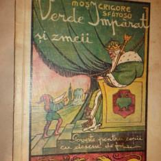 Verde Imparat si zmeii - Mos Grigore Sfatosu / desene de Maria Iordache