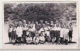 Bnk foto - Copii in costume populare, Alb-Negru, Etnografie, Romania de la 1950
