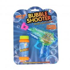 Pistol baloane de sapun Bubble Shooter Keycraft, 22 cm, 3 ani+